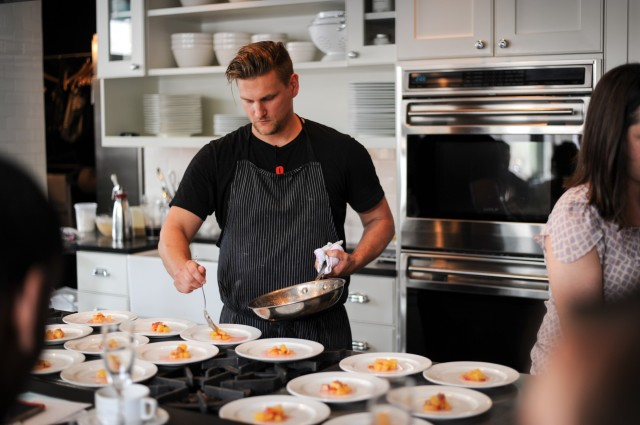Chef Jason Cichonski at COOK