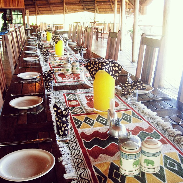 Tabletop in Africa