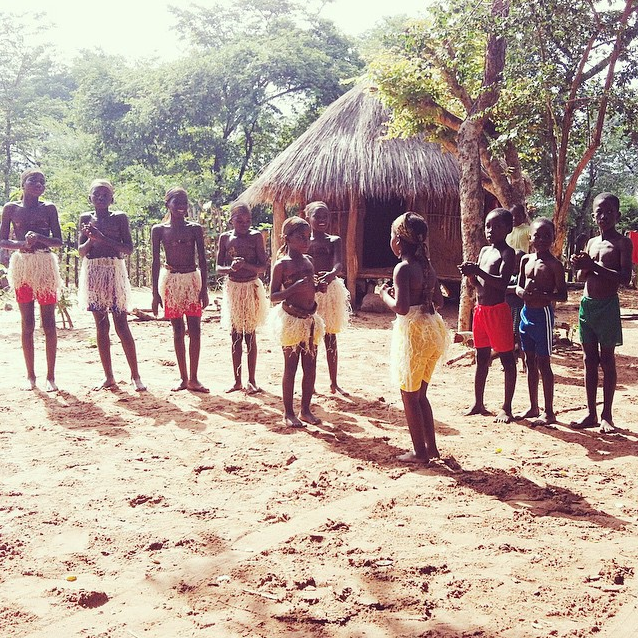 tribe in Zimbabwe, Africa